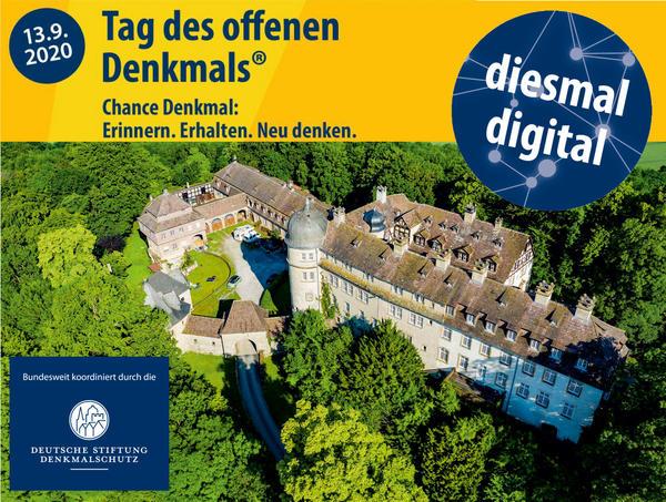 """""""Tag des offenen Denkmals"""" am 13. September 2020 - erstmals digital"""