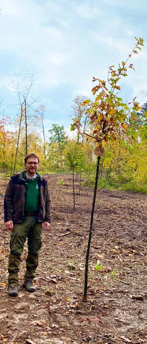 Pflanzaktion im Bürgerwald